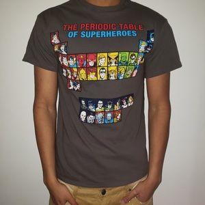 DC Superhero Periodic Table T Shirt